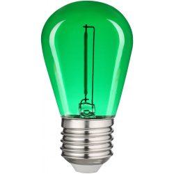 0,6W zöld E27 filament led izzó Avide