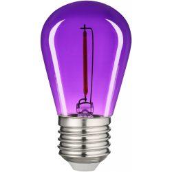 0,6W lila E27 filament led izzó Avide