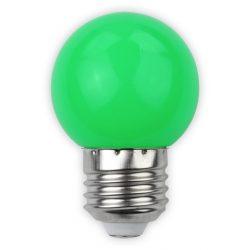 1W zöld E27 led izzó Avide