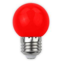 Avide Dekor LED fényforrás G45 1W E27 Piros