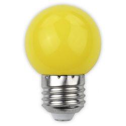 Avide Dekor LED fényforrás G45 1W E27 Sárga