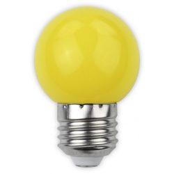 1W sárga E27 led izzó Avide