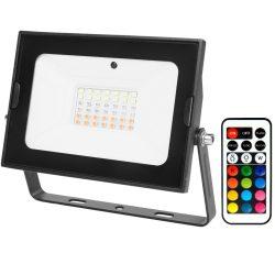 Avide LED Reflektor Slim SMD 30W RGB IR távirányítóval