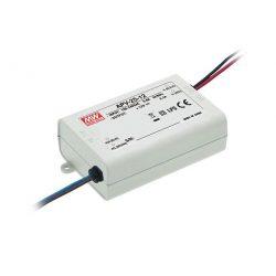 Mean Well 25W APV-25-12 IP20 beltéri LED tápegység 12VDC