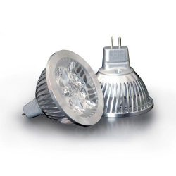 4x1W 2900K 60° MR16 led izzó Conlight
