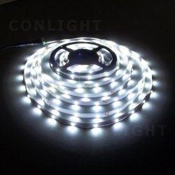 IP20 60 LED 3528 hideg fehér 4,8 W/m LED szalag CONLIGHT
