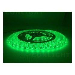 IP65 60 LED 3528 zöld  4,8 W/m LED szalag CONLIGHT