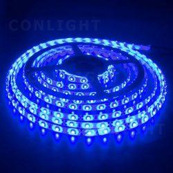 IP65 120 LED 3528 kék  9,6 W/m LED szalag CONLIGHT
