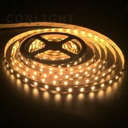 IP20 60 LED 5630 meleg fehér 24W/m LED szalag