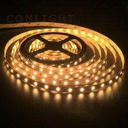 IP20 60 LED 5630 meleg fehér 24W/m LED szalag Conlight