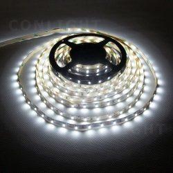 IP20 60 LED 3528 hideg fehér 4,8W/m LED szalag CONLIGHT