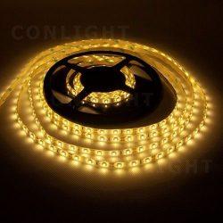 4,8W 60led IP65 DC 12V meleg fehér LED szalag Conlight