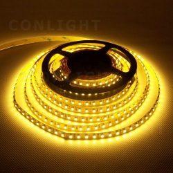 IP20 120 LED 3528 meleg fehér 9,6W/m LED szalag CONLIGHT