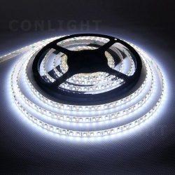 9,6W 120led IP65 DC 12V hideg fehér LED szalag Conlight