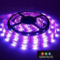 IP65 30 LED 5050 RGB  7,2W/m LED szalag CONLIGHT