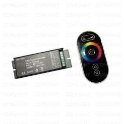 RF RGB Touch Vezérlő 18A + távirányító CONLIGHT