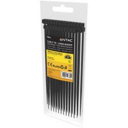 Entac Kábelkötegelő 3.6mmx300mm Fekete