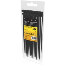 Entac Kábelkötegelő 4.8mmx400mm Fekete