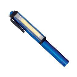 Elemes LED kézi lámpa mágneses rögzítő clippel ELMARK