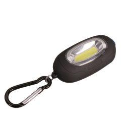 Elemes LED kézi lámpa mágnessel és karabinerrel kék ELMARK