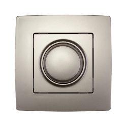 City fényerőszabályzó kapcsoló LED-hez 3-300W pezsgő metál ELMARK