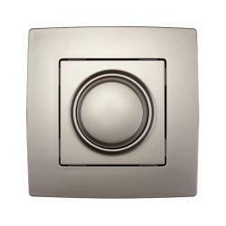 City dimmer, fényerőszabályzó kapcsoló LED-hez 3-300W pezsgő metál ELMARK