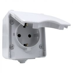 Német típusú dugalj IP65 Elmark