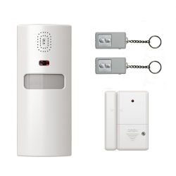 INFRARED ALARM WITH TWO REMOTE CONTROL