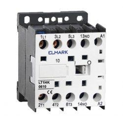 Kisfeszültségű kontaktor LT1-K 6A 400V 1NO Elmark