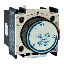 Késleltető kapcsoló modul kontaktorokhoz LT022-DT2 0.1~30s NO+NC OFF Elmark