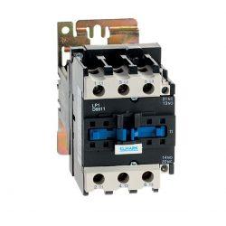 Egyenáramú kontaktor LP1-D 65A 12VDC 1NO+1NC Elmark