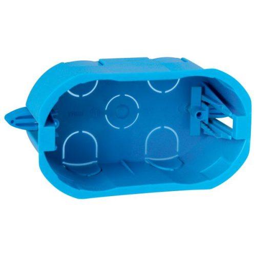 Lifestyle hármas doboz gipszkartonba fekete ELMARK kék