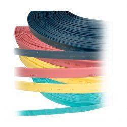 Zsugorcső 80/40 kék, zöld, fekete, piros, sárga ELMARK