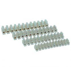 Sorkapocs 15a fehér, 6mm2 ELMARK