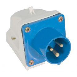 Ipari csatlakozó aljzat rászerelhető HT-513 16A Ip44 1p+N+E 230V ELMARK