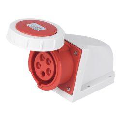 Ipari csatlakozó aljzat rászerelhető HTN-1251 32A Ip67 3p+N+E 400V ELMARK