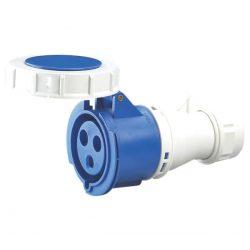 Ipari csatlakozó lengőaljzat HTN-2131 16A Ip67 1p+N+E 230V Elmark