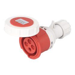 Ipari csatlakozó aljzat rászerelhető HTN-1341 16A Ip67 3p+E 400V Elmark