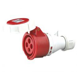 Ipari dugalj HTN-2241 32A IP67 3P+E 400V Elmark