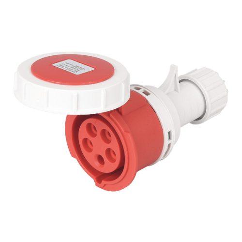 Ipari csatlakozó lengőaljzat HTN-2251 32A Ip67 3p+N+E 400V Elmark
