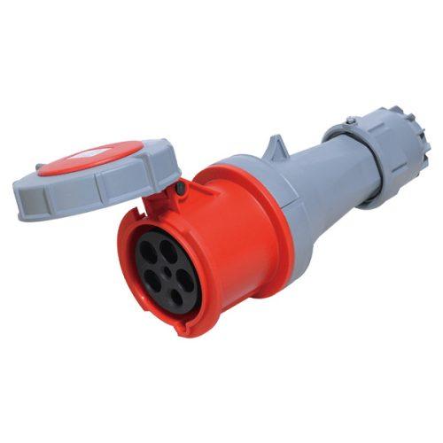 Ipari csatlakozó alzat HTN-2451 125A Ip67 3p+N+E 400V Elmark