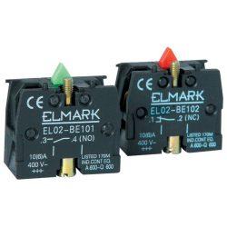 Nyomógomb záróérintkező elem ZB2-BE 101 zöld ELMARK