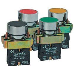 Ipari nyomógomb EL 2-BA 31 zöld ELMARK