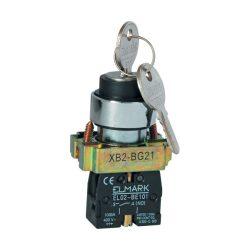 Kulcsos kapcsoló két állású EL2-BG 21 ELMARK