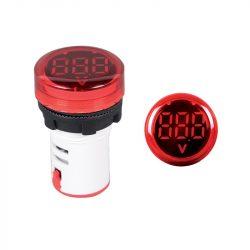Digitális feszültség mérő műszer EL-ED16R AC 12-500V Elmark