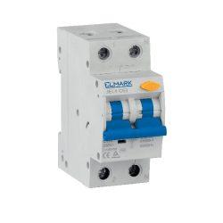 Kombinált elektronikus áramvédő kapcsoló JEL4 6kA 20A/30mA Elmark