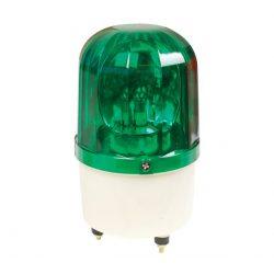 Jelző lámpa+sziréna LTE1101J-G 230 zöld Elmark