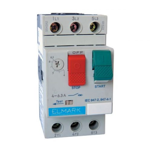 Motorvédő kapcsoló TM2-E07 1.6-2.5A ELMARK