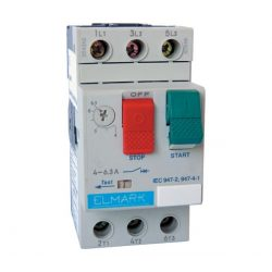 Motorvédő kapcsoló TM2-E08 2.5-4A ELMARK