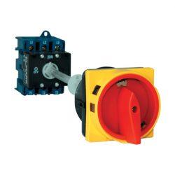 Forgókapcsoló LW30-32 32A 3p+ajtókuplung+zárható Elmark